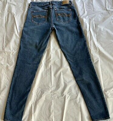 ABERCROMBIE & FITCH low rise stretch skinny jeans excellent condition 28W 29L