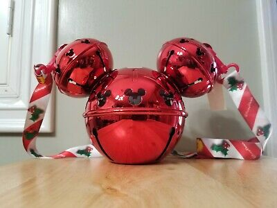 Disneyland Disney Parks 2019 Christmas Jingle Bell Ornament Mickey Sipper Cup