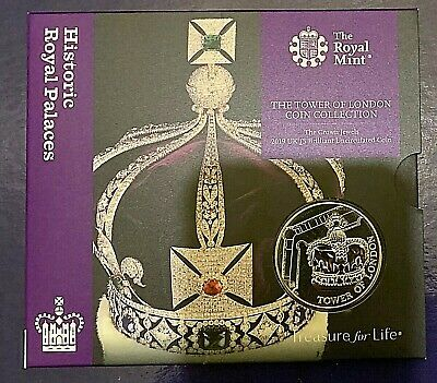 2019 The Tower of London - Crown Jewels £5 Brilliant Uncirculated Coin