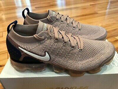 Nike Air Vapormax Flyknit 2 Diffused Taupe Phantom 942842 201 Men's Size 8