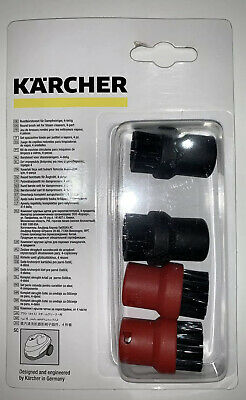 4 KARCHER Steam Cleaner Hand Tool Brush Nozzle Round Brushes SC1.020 SC1020