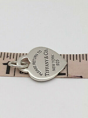 Tiffany & co. Sterling silver please return to Tiffany & co. New York Heart pend