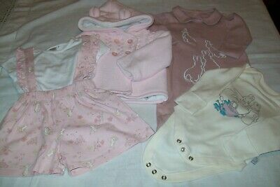 Baby girls clothes Guess How Much I Love You & Peter Rabbit aged 0-3 months