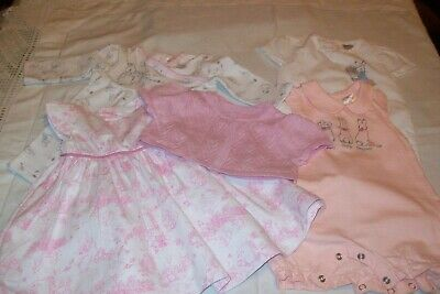 Baby girls Peter Rabbit clothes from Mothercare & TU aged 0-3 months