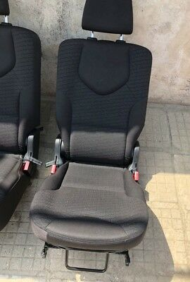 Peugeot 308 SW estate one  rear seat black  2008 - 2014