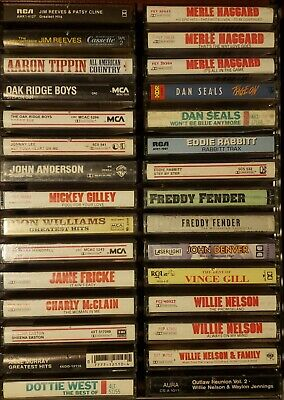 You Pick Cassette Tapes Country/Folk/Ballad/Oldie 40's-Now Bulk Savings/Free S&H