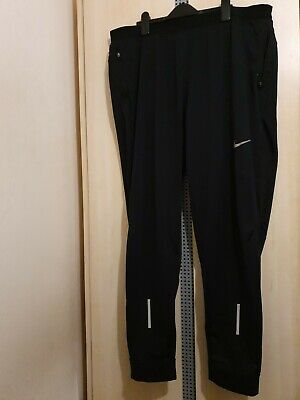 Mens Tracksuit Bottoms Joggers Xxl Black Dri Fit Nike 2xl