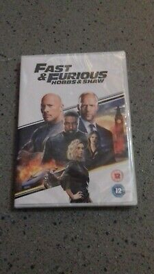 Fast & Furious Presents: Hobbs & Shaw [DVD] RELEASED 02/12/2019