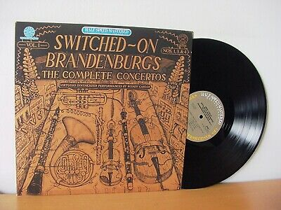 "WENDY CARLOS ""Switched On Brandenburgs"" Audiophile MASTERSOUND LP CBS HM 45951"