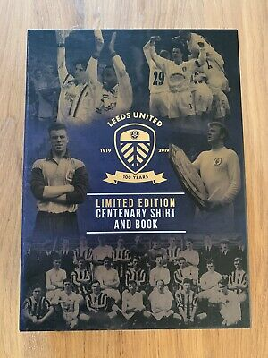 Leeds United Centenary Shirt And Book, Limited Edition.
