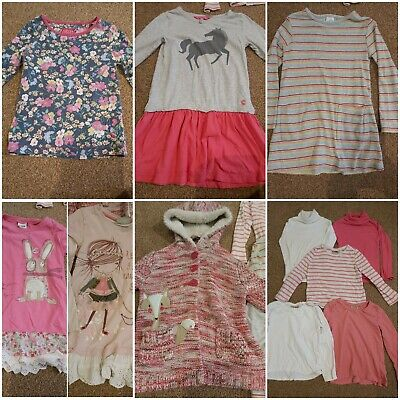 3-4 Years Girls Bundle Tops dresses Next Joules unicorn rainbow stripes
