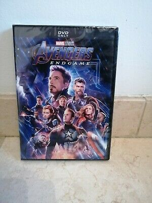 Avengers Endgame DVD (Region 1), Brand New and Sealed, 1st Class Delivery