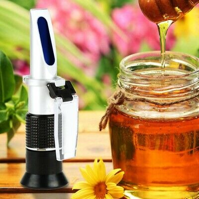 Pro 58-90% Honey Refractometer Brix Tester Uses Sugar Juice Honey Moisture Test