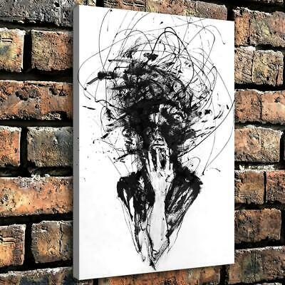 """12""""x18""""Abstract artistic human HD Canvas prints Home Decor room Wall art Picture"""