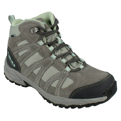 Ladies Hi Tec Alto Ii Mid Wp Womens Lace Up Dri Tec Outdoor Ankle Boots Size