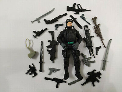 "Resculpted Lanard 3.75/"" Custom FEMALE FIGURE GI JOE Type Soldier Mercenary loose"