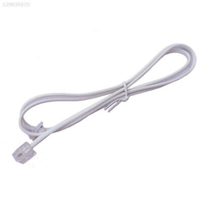 4BFF Broadband Telephone Line Phone Internet Cable Wire White Lines