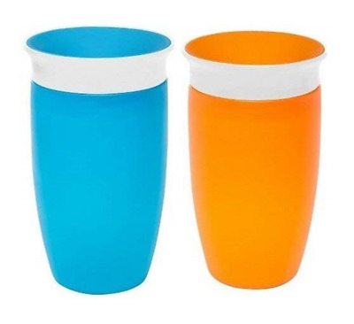 Munchkin Miracle 360 Sippy Cup (2 Pack) Blue & Orange