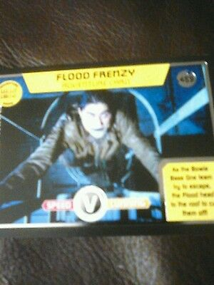 Dr who monster invasion ultimate Ltd Edition card number 459 flood frenzy