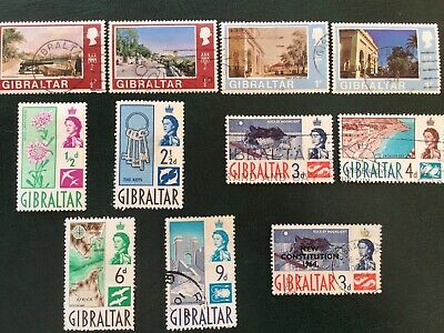 Commonwealth stamps . Gibraltar. As Illustrated.