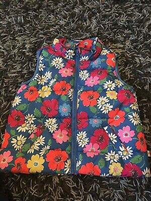 Beautiful Floral Girls Cath Kidston Gilet. Age 2-3 Years