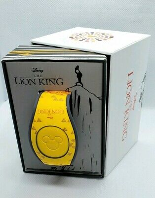 Disney Parks The Lion King Live Action Movie Magic Band LE 2019 Unlinked New
