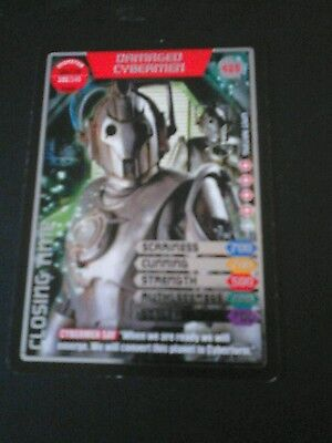 Dr who monster invasion ultimate card Damaged Cybermen 425