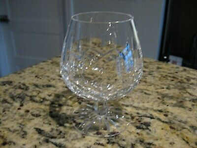 """Waterford Crystal Lismore Brandy Snifter 12 oz Perfect 5 1/2"""" Tall"""