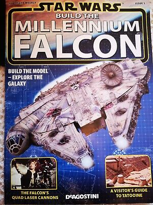 Deagostini build the millennium falcon