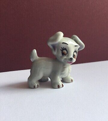 Wade DISNEY Figurine SCAMP from LADY & THE TRAMP - 1956-65 HAT BOX SERIES