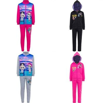 Girls tracksuit LOL Surprise Dolls outdoor jogging suit 3-8 years