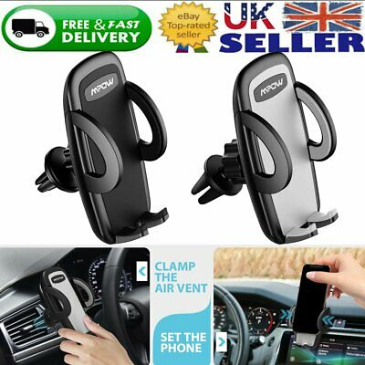 Car Air Vent Mount Phone Holder Cradle Gravity Stand for iPhone 11 Samsung LG UK