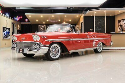 1958 Chevrolet Impala Convertible Frame Off, Nut & Bolt Resto! 348ci V8, Automatic, Lots of Options, PS, PB, A/C