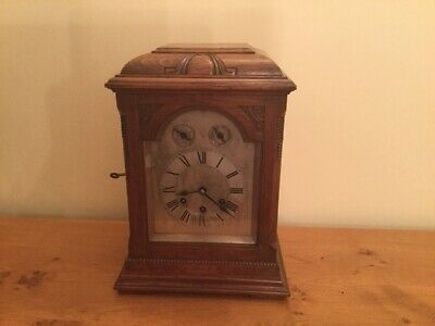 Gustav Becker Mantle Clock.  Can sell individually or as a pair