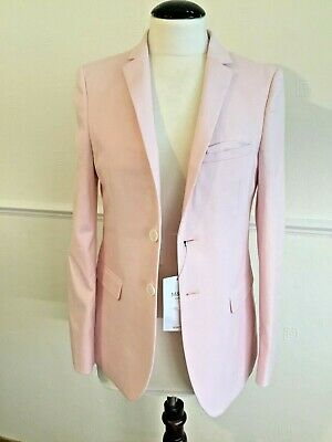 Girls M & S Kids Pink Dress Jacket Slim Fit Fully Lined  Age 12 - 13 Years