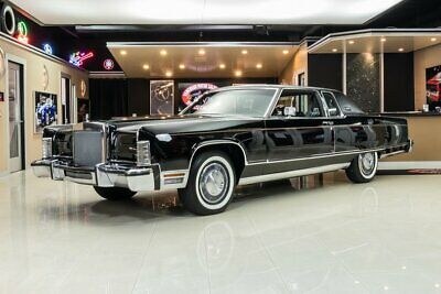 1977 Lincoln Continental Town Coupe Lincoln Time Capsule! 33k Actual Miles, # Matching Drivetrain, 460 V8, Automatic