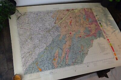 Geological Survey Of Great Britain - Vintage Map Of Jedburgh 1965 Sheet 17