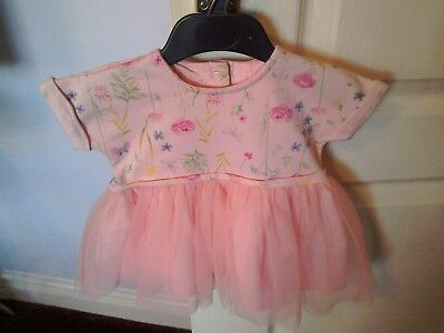 Baby girls beautiful dress 0-3 months good condition by Mothercare