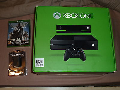 MICROSOFT XBOX ONE CONSOLE KINECT BUNDLE CONTROLLER PAD 500GB BRAND NEW! Destiny