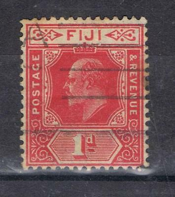 Fiji 1906 King Edward VII 1d SG 119 Used