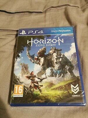 Horizon: Zero Dawn PS4 (New and Sealed)
