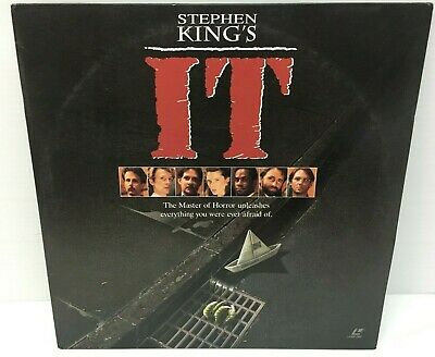 It Stephen King's 1990 Uncut [12198] Laserdisc Not A DVD
