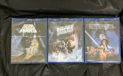 Star Wars Trilogy Original Theatrical Edition Despecialized 3 Blu-Ray SEALED NEW