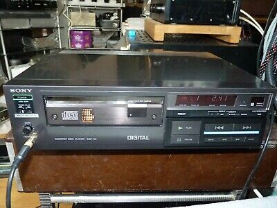 Vintage Sony CDP-101 compact disc cd player.L@@K.
