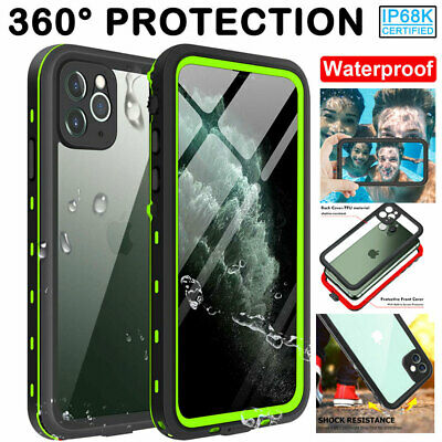 360° Full Cover Waterproof Shockproof Armor Case for iPhone 11 Pro XS Max XR X 8
