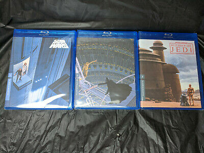 Star Wars Trilogy Original Theatrical Edition Despecialized 6 BluRay SEALED NEW