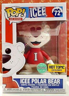 FUNKO POP! AD ICONS ICEE POLAR BEAR GRAPE Scented  Hot Topic Exclusive IN STOCK