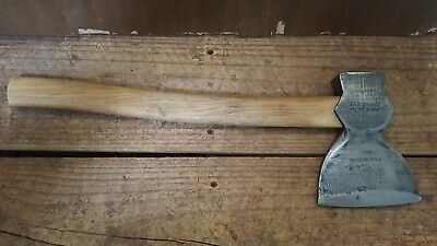"Vintage 1 kg True Temper Broad Head Small Axe/Hatchet, Made in USA, 4-1/2"" Blade"