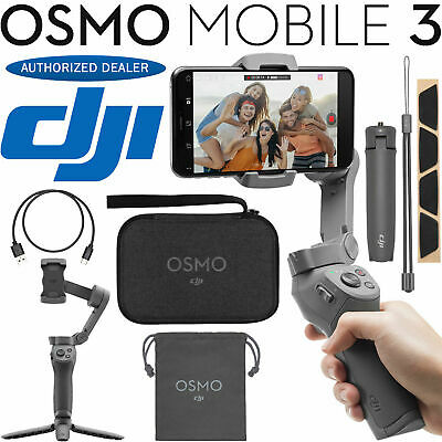 DJI Osmo Mobile 3 Combo Gimbal Stabilizer for Smartphones Lightweight AIRMAIL