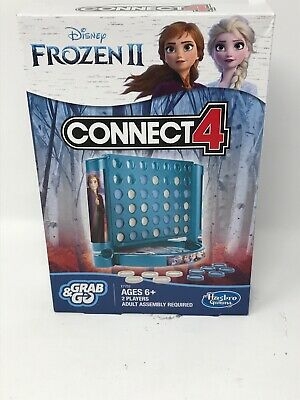 Connect 4 Game: Frozen 2 Edition - By Hasbro Grab & Go